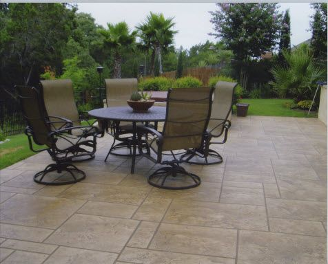 Decorative Patio Tiles Magnificent 39 Best Cover A Concrete Patio Images On Pinterest  House Porch Review