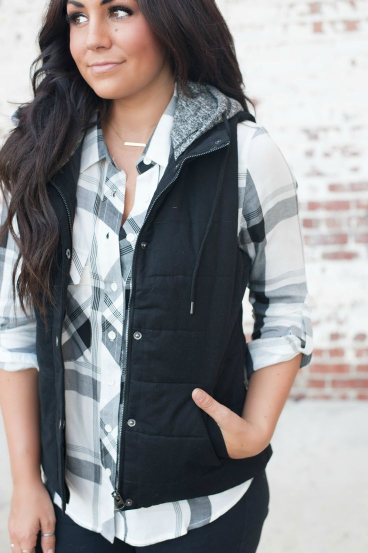    The Ashley Puffer Vest $38    YOU. NEED. THIS. End of story! A fall and winter staple that every girl needs in their closet. So cozy and cute!
