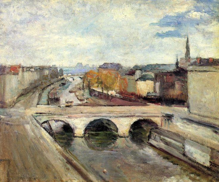 The Pont Saint Michel in Paris - Henri Matisse - 1900 ...............#GT