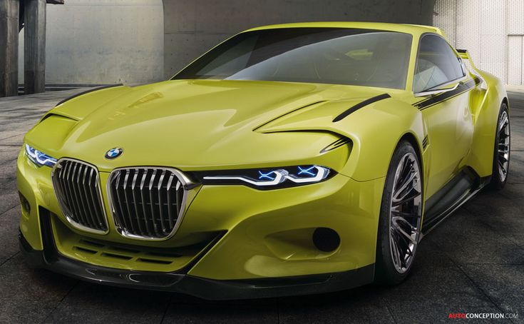 BMW 3.0 CSL 'Hommage' Concept Car Revealed