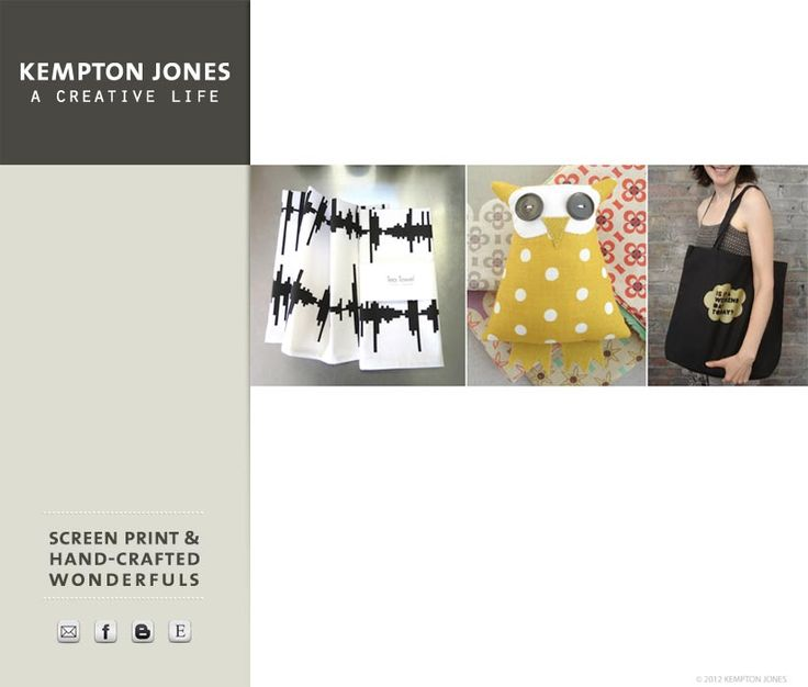 Kempton Jones - Screen Print & Hand-Crafted Wonderfuls