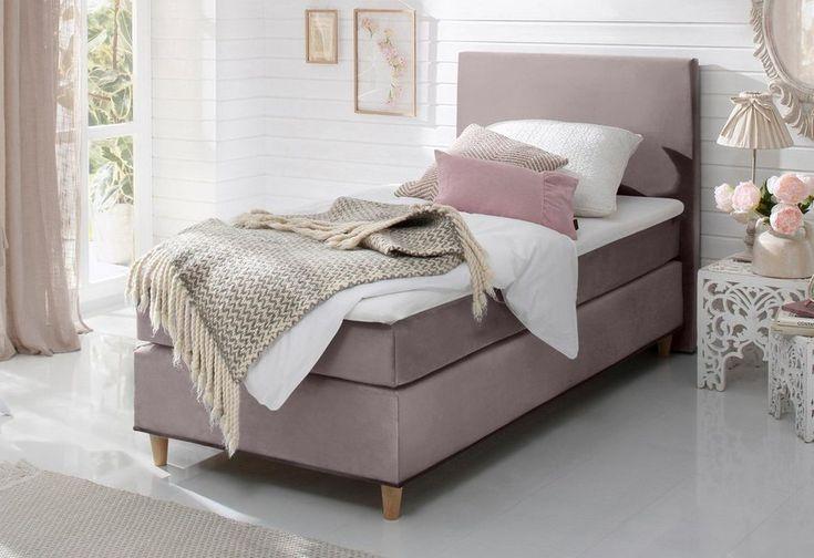Home affaire Boxspringbett »Toma«, mit Topper und Kederumrandung - möbel höffner schlafzimmer