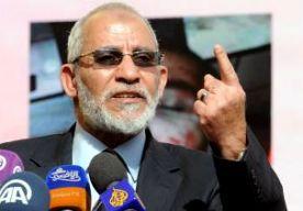 11-Apr-2015 11:52 - DOODSTRAF VOOR KOPSTUK EN LEDEN MOSLIMBROEDERSCHAP. Een rechtbank in Egypte heeft de geestelijk leider van de Moslimbroederschap, Mohammed Badie, opnieuw veroordeeld tot de doodstraf. Ook dertien andere kopstukken van de partij hebben die straf gekregen. Volgens de rechter hebben ze chaos en geweld veroorzaakt. De veroordeelden kunnen nog in hoger beroep en de hoogste geestelijke in Egypte moet zich nog uitspreken over de doodstraf. Als de grootmoefti toestemming...