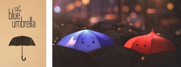 Disney Pixar The Blue Umbrella Short #monstersUEvent