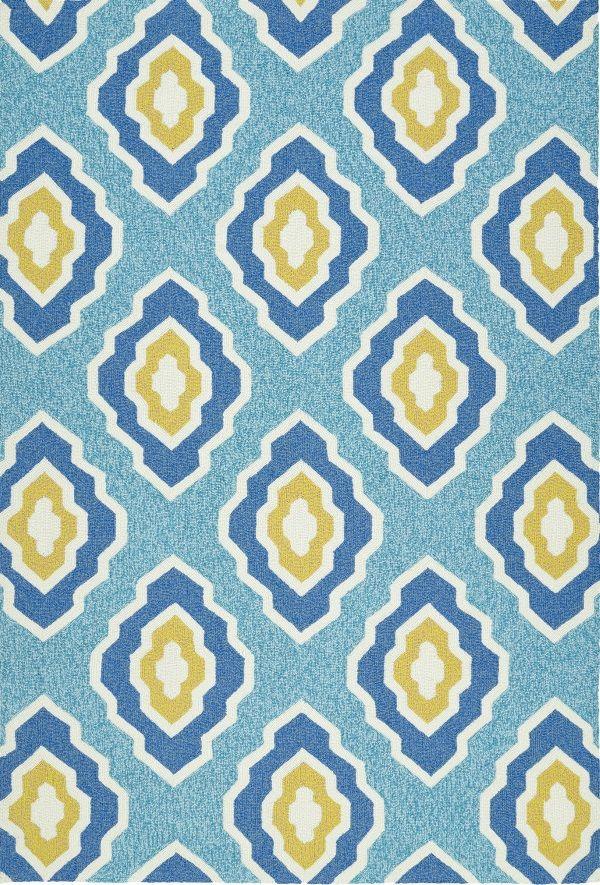 escape esc02 17 blue by kaleen rugs