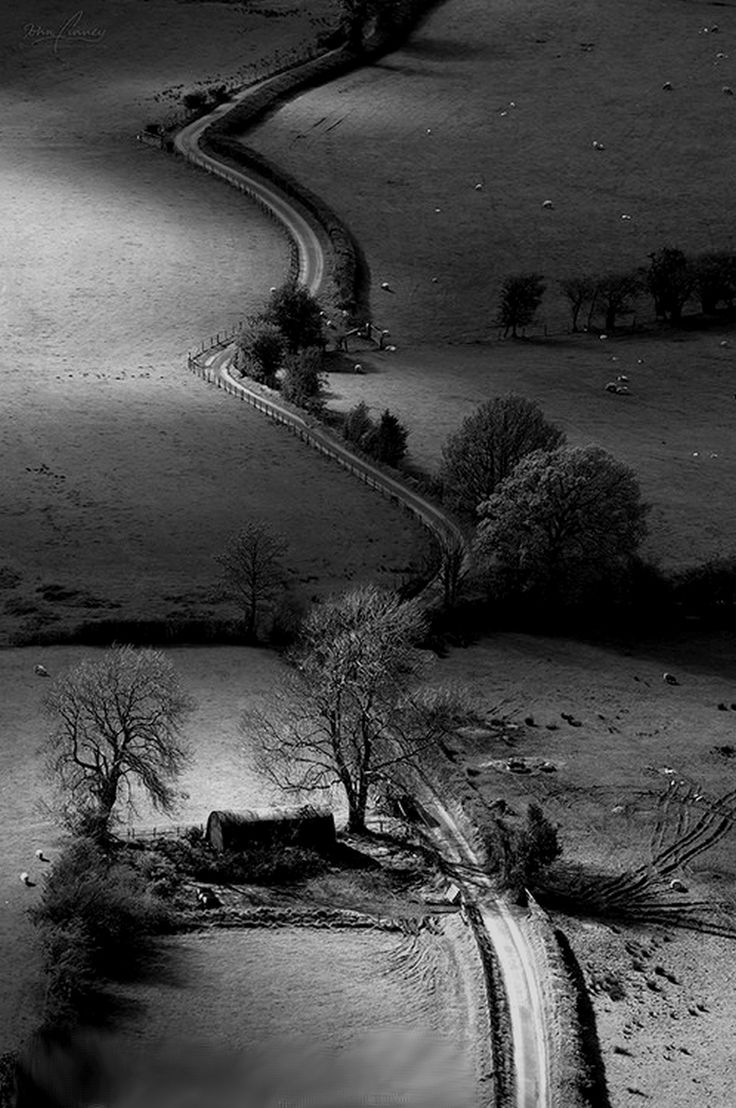 Newlands valley, Lake District, England has the quality of a grant wood midwest landscape I want to go again