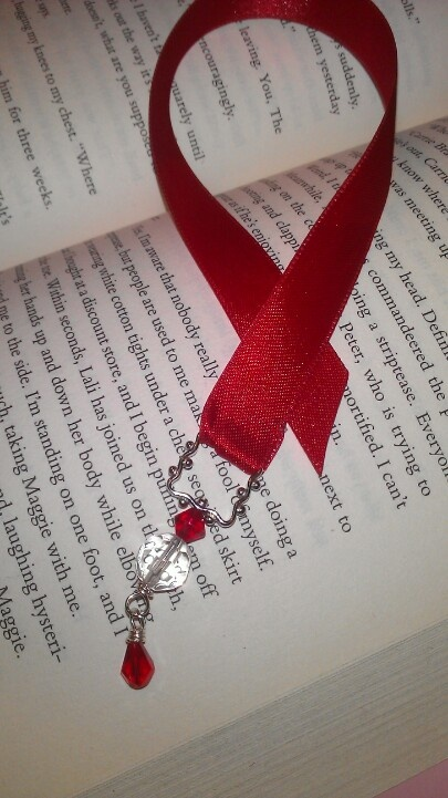 Ribbon bookmark handmade by me my creations for How to tie a ribbon on a bookmark