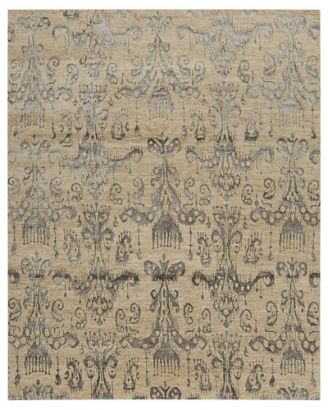 Featuring An Elaborate Damask Pattern This Spectacular Rug Is Constructed  Using A Phoenix Weave And Will