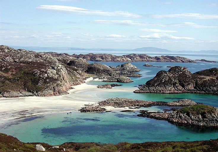 ...and just over 1,5 weeks until this one. September has turned out to be the month for visiting Scottish islands, it seems... Traigh Gheal, Mull