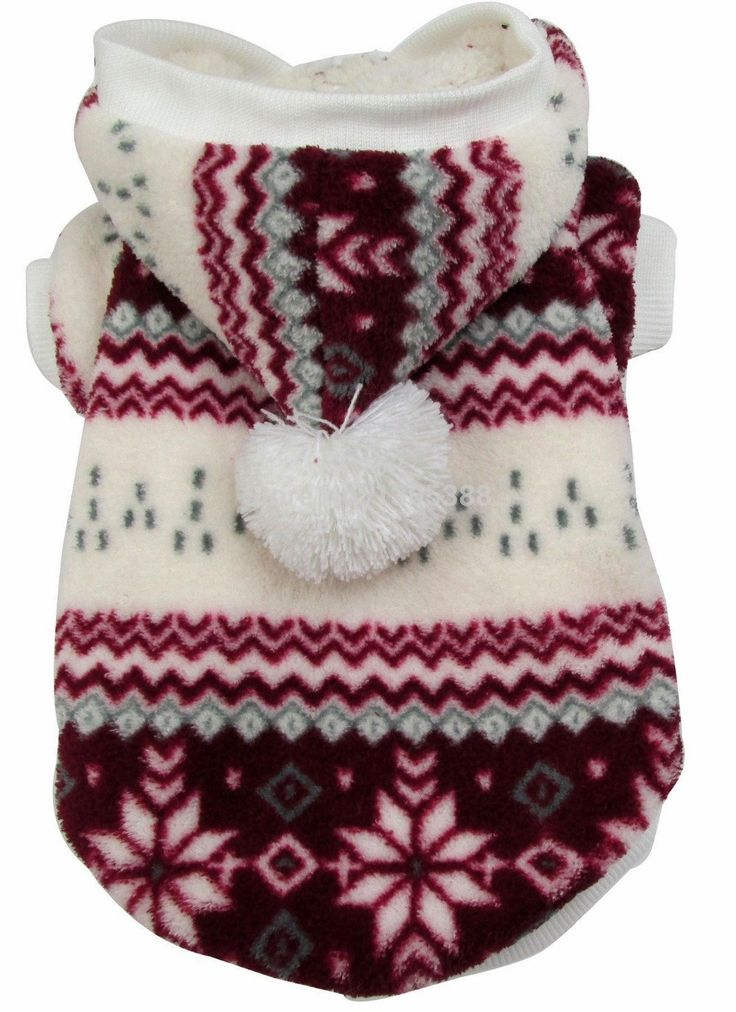 Red Snowflake Style cat Dogs Vest Coat Dogs Clothing^.L *** Discover this special product, click the image (This is an amazon affiliate link. I may earn commission from it)