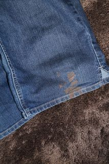 How to Remove Paint From Your Clothes, after they've gone through the dryer.