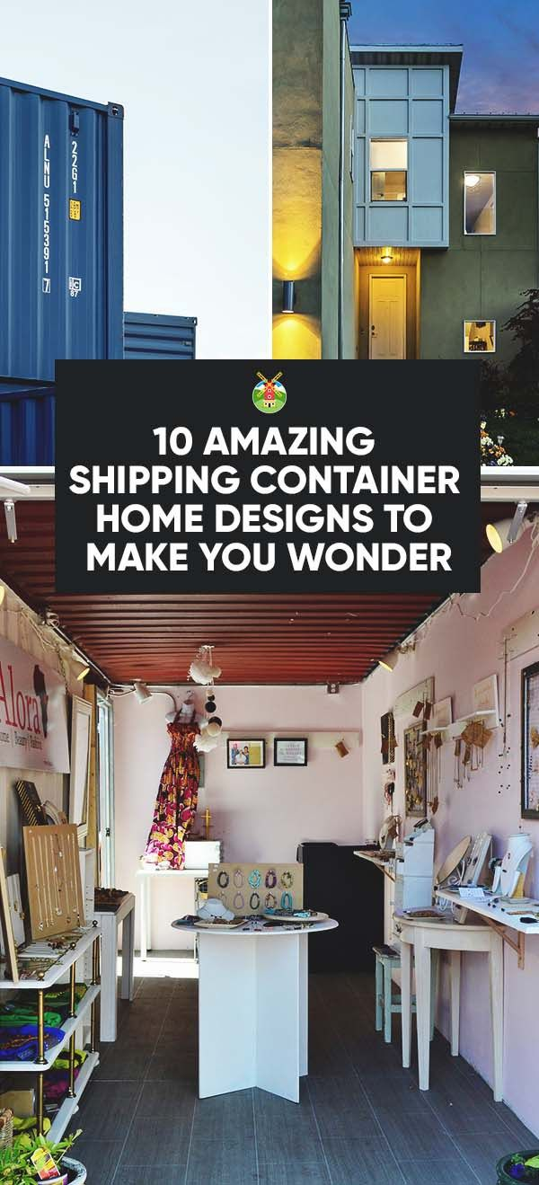We show you examples of shipping container home designs to make you wonder if using old shipping crates to create a home is not a perfect idea for you too?