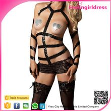 Sample Free High Neck Strappy Vinyl Women Sexy Leather Underwear Lingerie Best Seller follow this link http://shopingayo.space