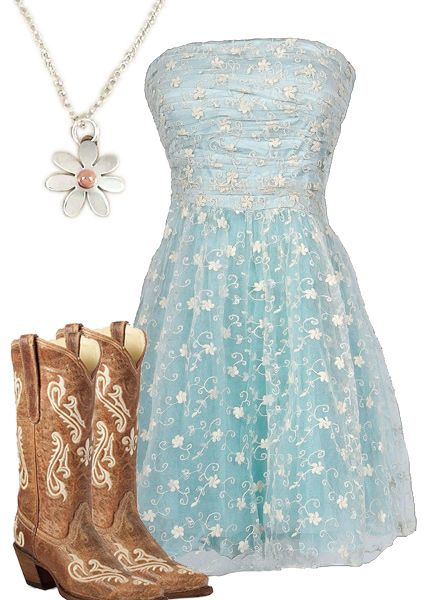 Country Girl Flower Dress- LOVE THIS SO MUCH!! Can it magically appear in my closet right now? :)