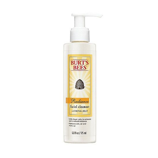 Burt's Bees Radiance Daily Cleanser With Royal Jelly ($10) helps you wash away a dull complexion with fruit acids and jojoba beads.