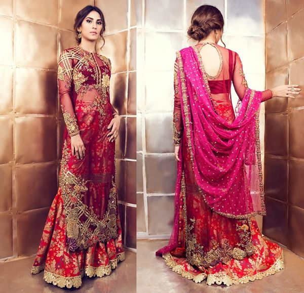Tena Durrani Gold-Dust Luxury Dresses 2017-2018 For Eid.The leading fashion by Tena Durrani open up its latest Eid dresses design for present season 2017-18. Tena Durrani up this coming Eid Festiva…