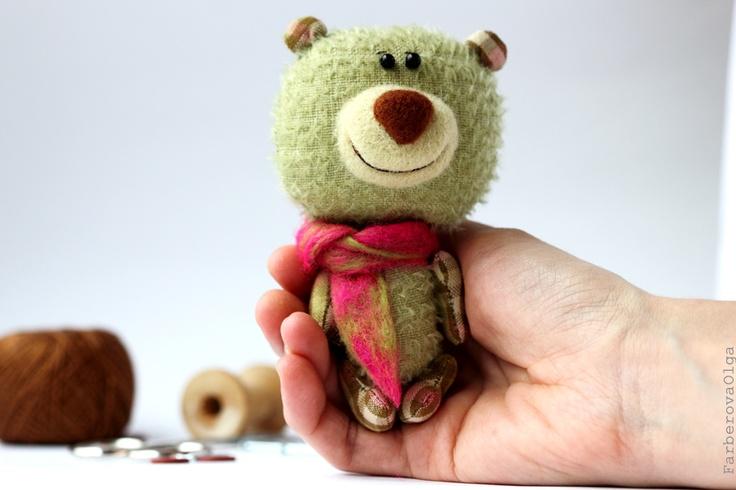 Mint - Mohair Teddy Bear - Collectible bear