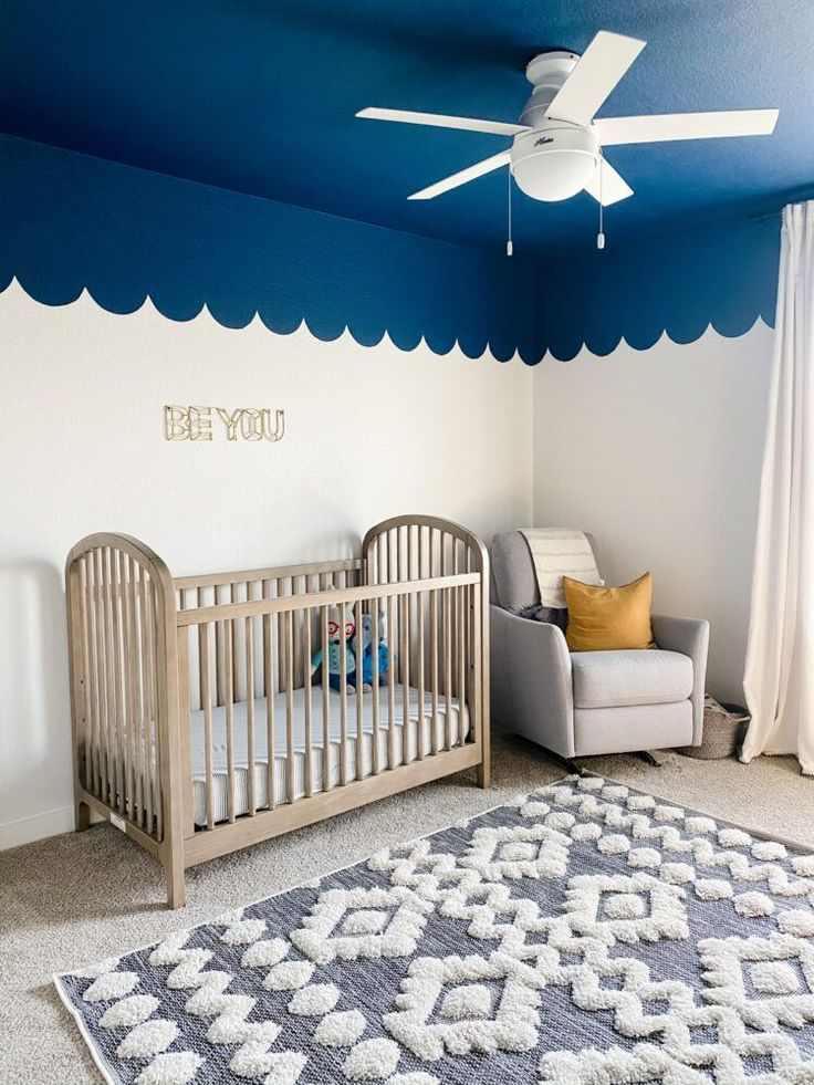 Grant's Nursery Makeover With BEHR® Color Trends 2021