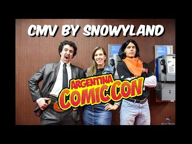 ARGENTINA COMIC CON MAYO 2016 - Cosplay Music Video (CMV) - Video --> http://www.comics2film.com/argentina-comic-con-mayo-2016-cosplay-music-video-cmv/  #Cosplay