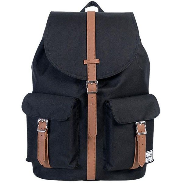 HERSCHEL 23.5l Dawson Nylon Backpack - Burgundy ($93) ❤ liked on Polyvore featuring bags, backpacks, herschel rucksack, nylon backpack, laptop backpacks, laptop bag and rucksack bag