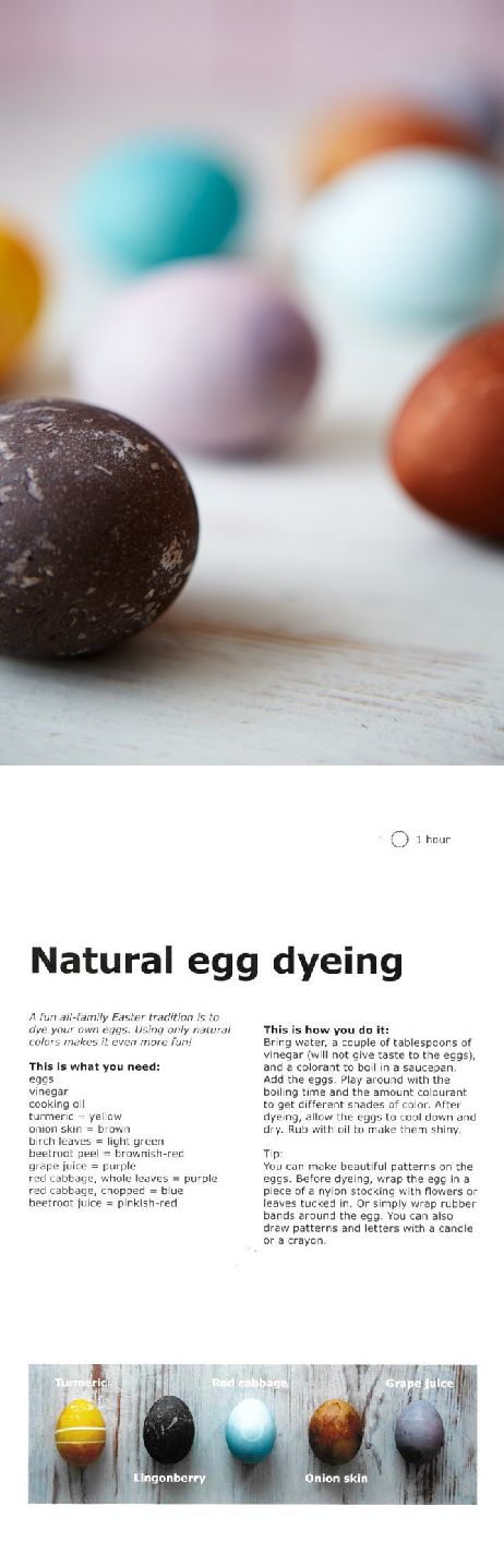 Dyeing Easter eggs is a fun family tradition. For even more fun, try making your own natural dye!