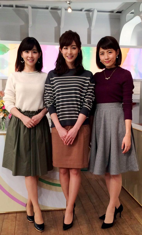 2015/11/19 グッド!モーニング新3姉妹のOggiStyleで、 流行のファッションをチェックしましょう 今日のテーマは『秋色こっくりカラー』でした