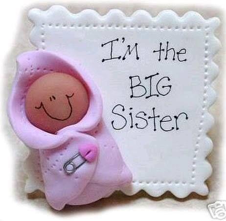 Souvenir nacimiento baby sister