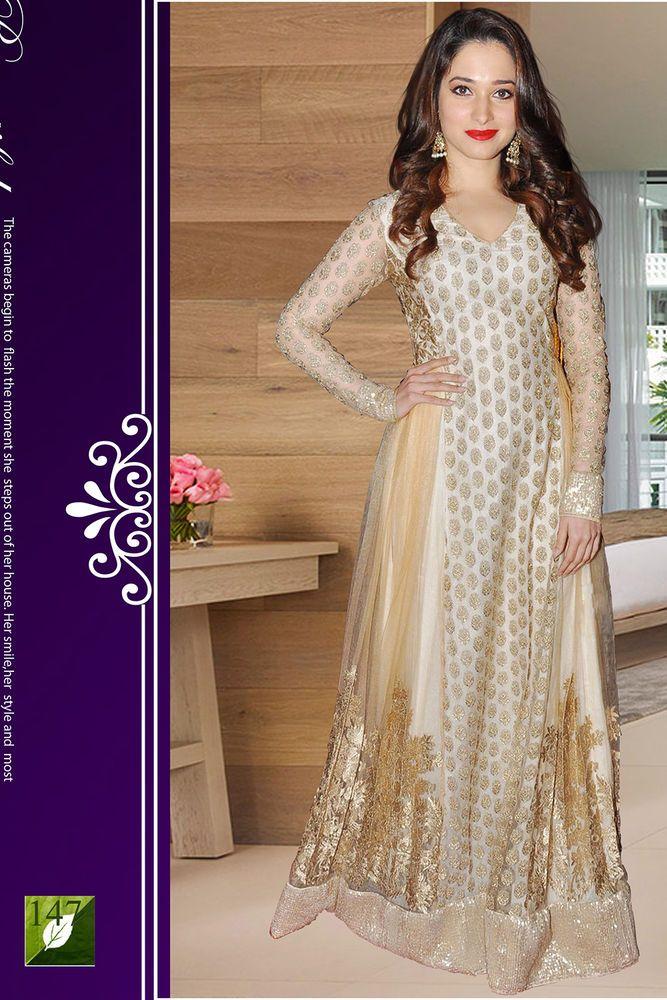 Partywear Indian Pakistani Suit Bollywood Anarkali Ethnic Designer Salwar Kameez KurtasKurti