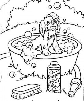 20 best puppy birthday images on Pinterest | Coloring pages ...