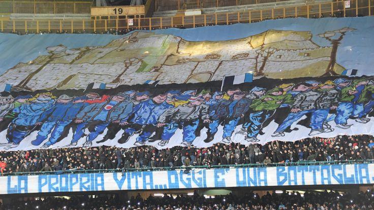 Napoli-Real Madrid, coreografie da brividi al San Paolo - Corriere dello Sport