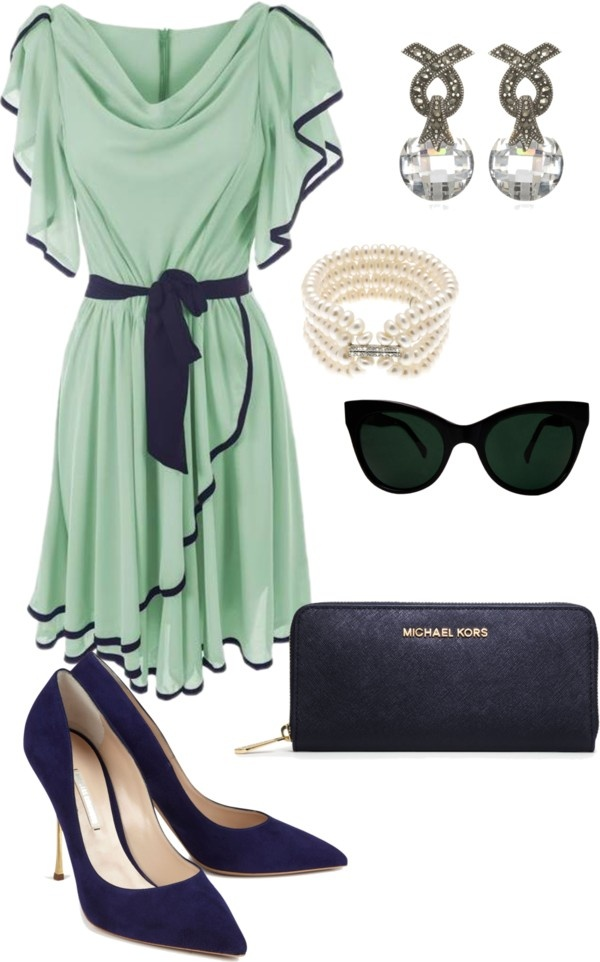 """""""Untitled #114"""" by danielle-whitlow ❤ liked on Polyvore only the dress though"""