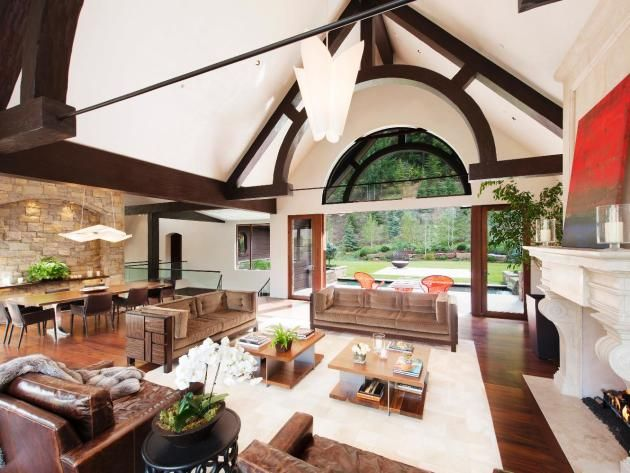 Celebrity Digs On Pinterest Celebrities Homes Inside Celebrity