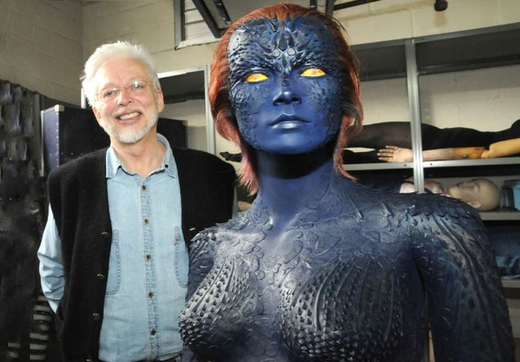 Mystique's Sexy Blue Suit & Wolverine's Retractable Metal Claws Brought to Life by Gordon Smith - FXSmith