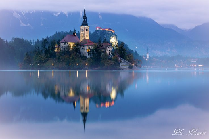 Bled in Blue by Stefano Marsi on 500px