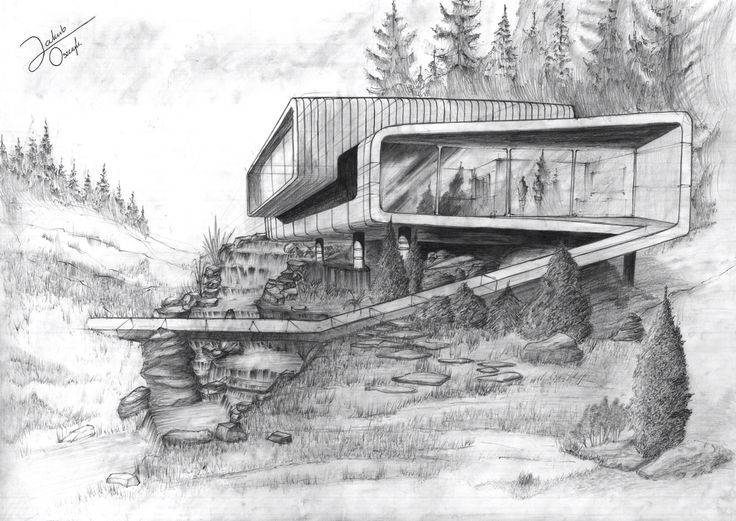 My first architecture drawing, i'm so proud of myself