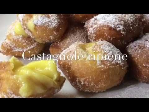 CASTAGNOLE LEGGERISSIME RIPIENE x Carnevale -Tutti a Tavola - YouTube