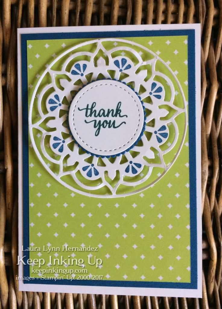 Eastern Palace thank you card by Keep Inking Up