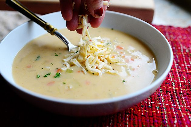 Perfect Potato Soup from The Pioneer Woman.