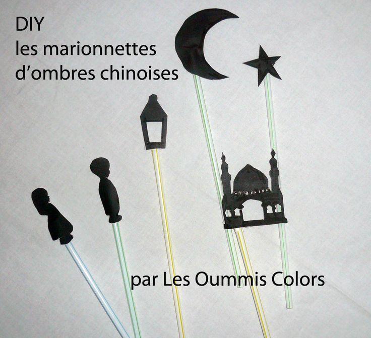 Marionnettes d'ombres chinoises pour les petits muslims
