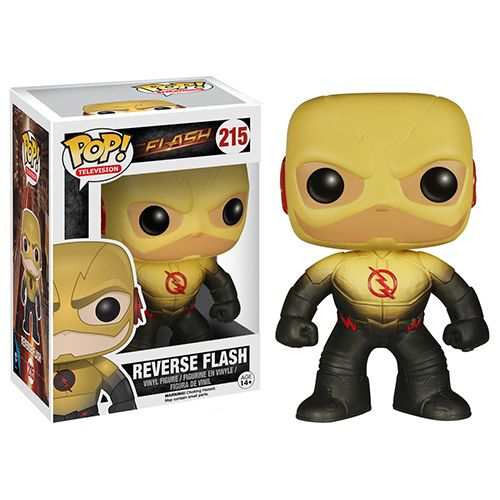 The Flash TV Series feels like it has appeared almost like a new comics character might get his own book after a big impact first appearance (think Punisher in Spidey 129 or Deadpool). After two guest slots on Arrow the character garnered enough interest  Brought to you by Pop in a box, the UK Funko Pop! Vinyl shop. Add Reverse Flash to your collection tracker today.