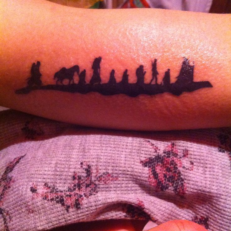 Lord Of The Rings Narsil Tattoo