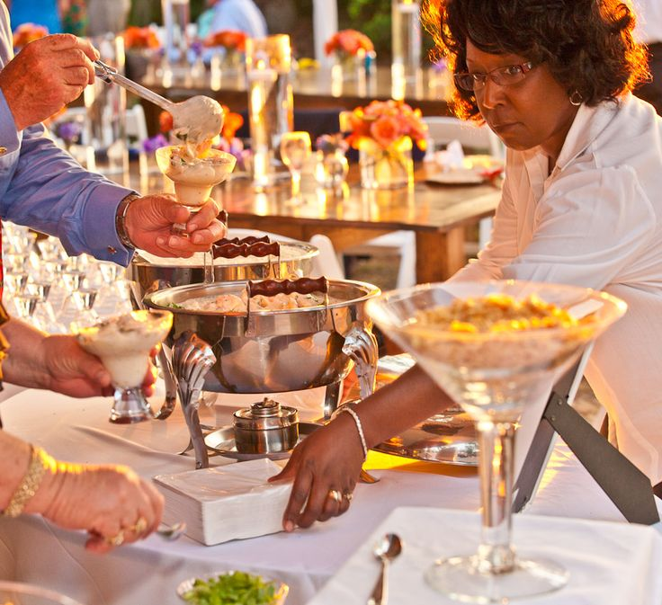 Southern Wedding Food Menus: Shrimp And Grits Martini Station
