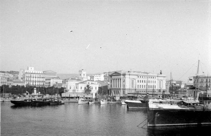 Πειραιάς, Το λιμάνι.1938                  Ιωάννης Λάμπρος