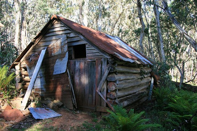 One of the three Treasures Huts, Dargo High Plains