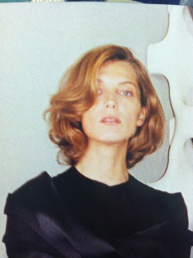 Daria Werbowy Haircut 2013