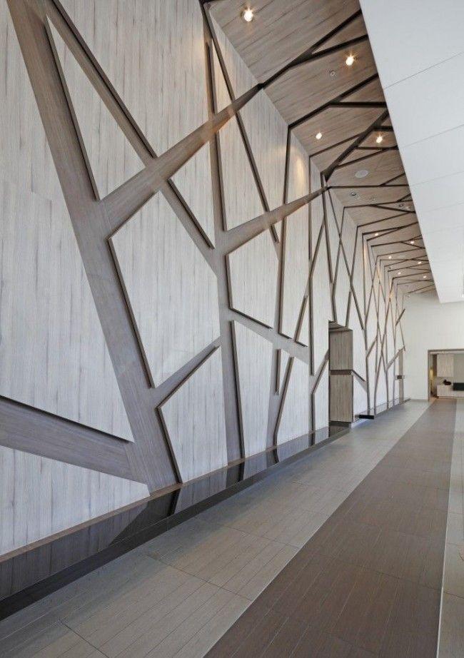 HappyModern.RU | 60  видов стеновых панелей для внутренней отделки: формы, текстуры, материалы | http://happymodern.ru