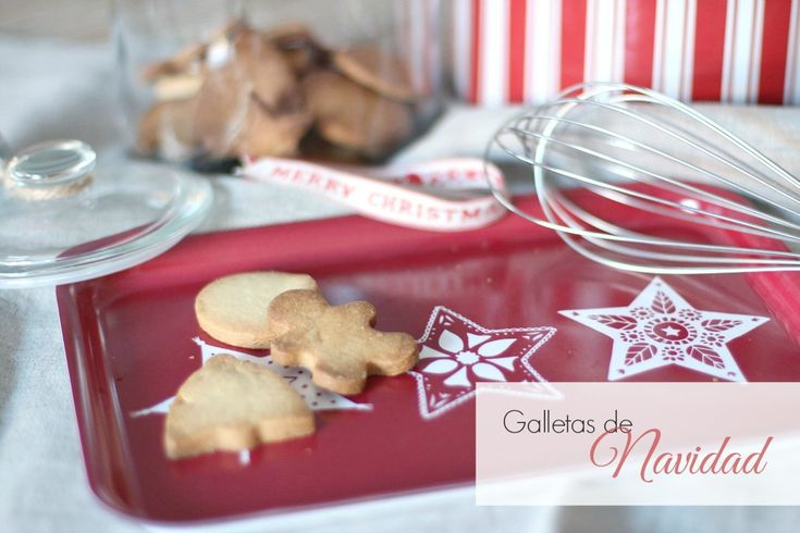 Receta de galletas de Navidad para hacer en familia | el taller de las cosas bonitas