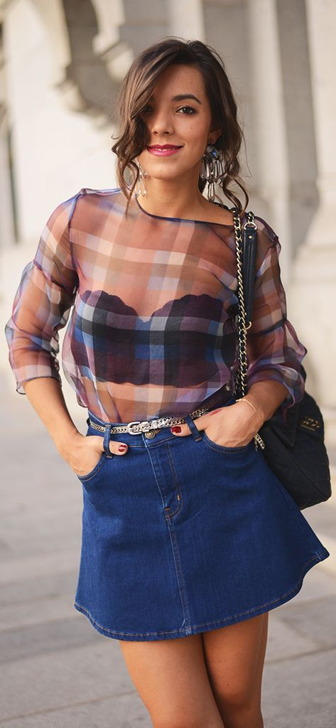 # Fashionshowdown Tartan Shirt | The Fashion Through My Eyes