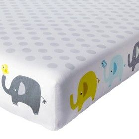 Circo® Duo-Print Fitted Sheet - Trunks of Love