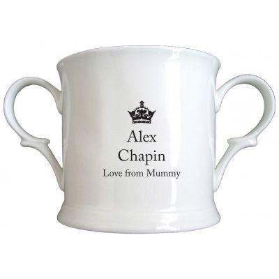 Little Prince General Photo Bone China Loving Cup. £12.99 #NewBaby #LittlePrince #BoneChina #PersonalisedBabyGifts #PersonalisedGifts